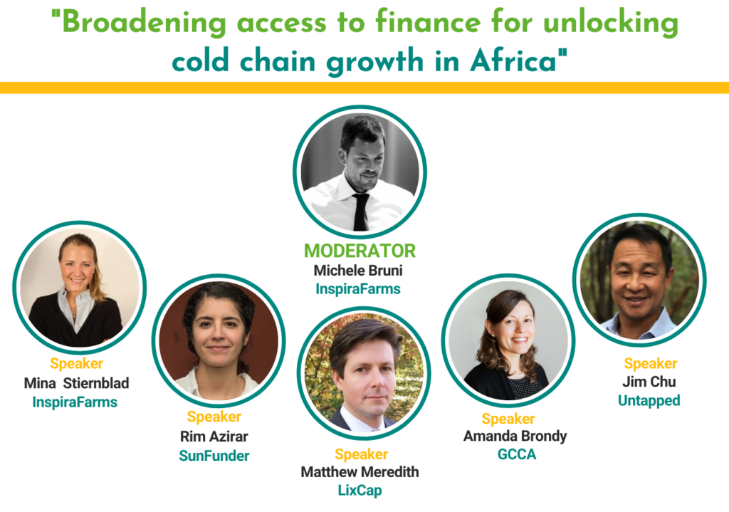Broadening access to finance for unlocking cold chain growth in Africa.