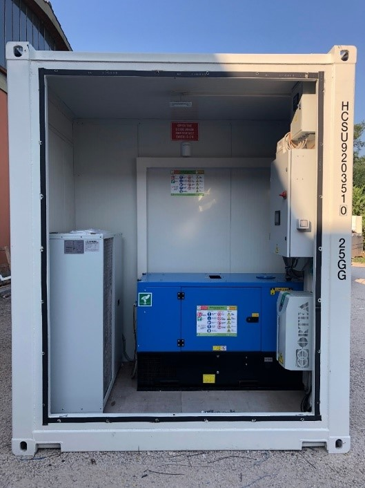 First Mile mobile unit